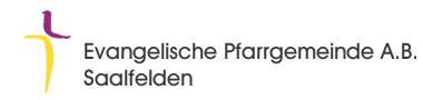 Evangelische Pfarrgemeinde A.B.  Saalfelden
